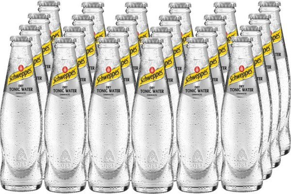 Schweppes Dry Tonic Water 24er