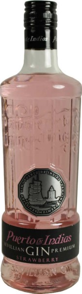 Puerto de Indias Gin Strawberry 0,7l