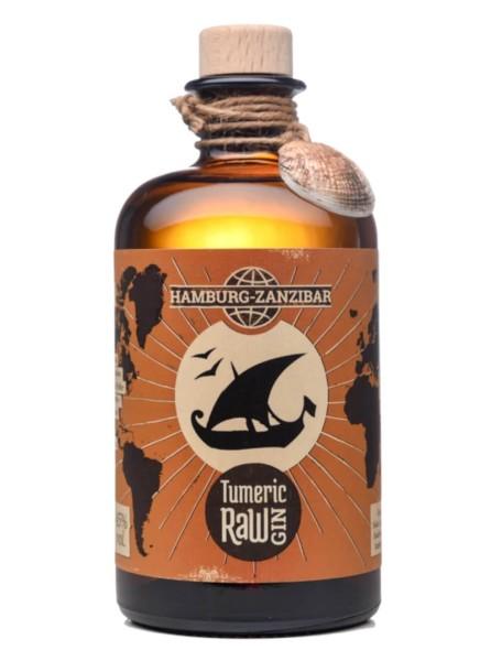 Zanzibar Tumeric Raw Gin 0,5 Liter