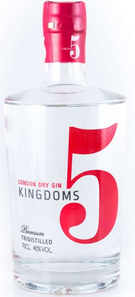 5 Kingdoms London Dry Gin 0,7l