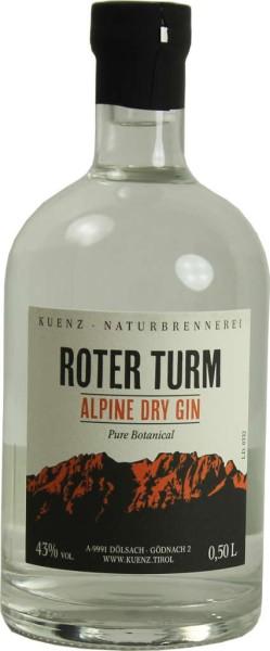 Roter Turm Alpine Dry Gin Pure Botanical 0,5l