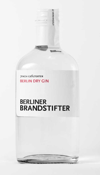 Berliner Brandstifter Gin 0,35l
