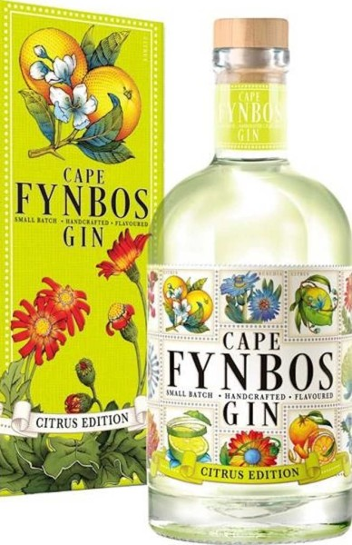 Cape Fynbos Gin Citrus Edition 0,5l