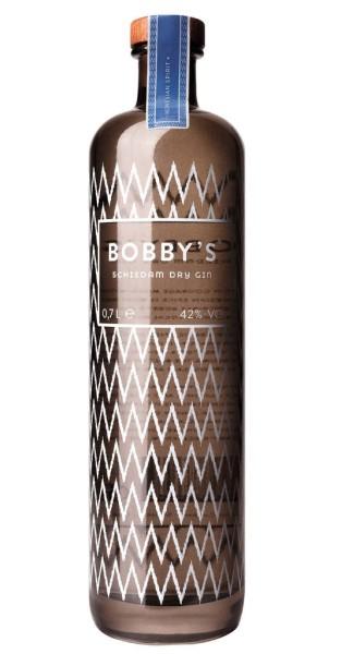 Bobbys Schiedam Dry Gin mit Tumbler 0,7 Liter
