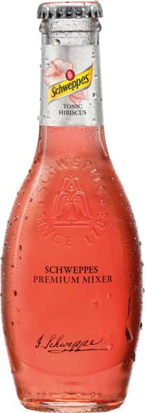Schweppes Premium Tonic Hibiscus 0,2l