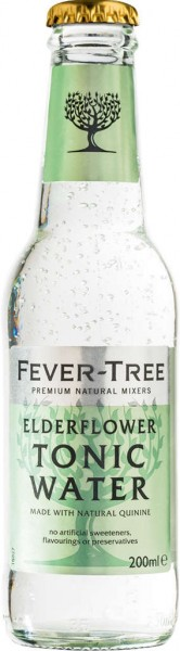 Fever Tree Elderflower Tonic Water 0,2 l