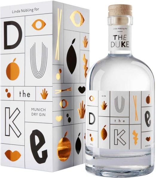 The Duke Gin Kunstedition Kupfer Weiß 0,7l