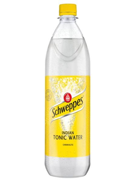 Schweppes Indian Tonic Water 1 Liter PET
