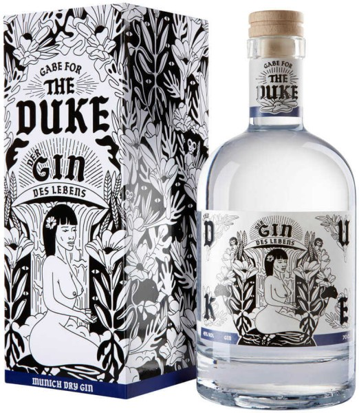 The Duke Gin Kunstedition Gin Des Lebens Frau 0,7l