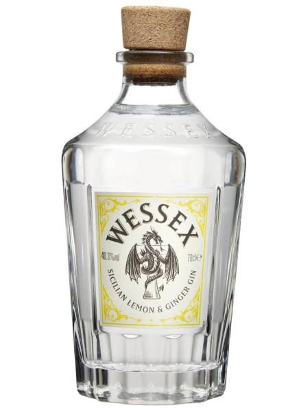 Wessex Sicillian Lemon & Ginger Gin 0,7 Liter