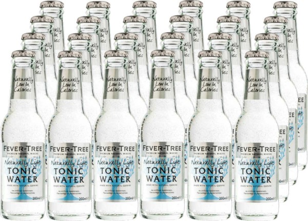 Fever Tree Premium Dry Tonic Water 24er