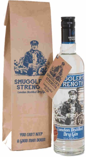 Smugglers Strength London Dry Gin 0,7l in Paperbag