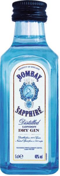 Bombay Sapphire Gin Mini 5cl