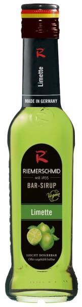 Riemerschmid Limette Barsirup 0,25 Liter