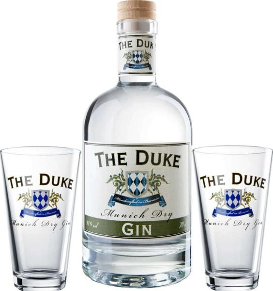 The Duke Munich Dry Gin 0,7l mit Gläsern