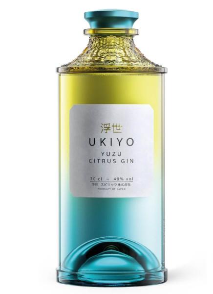 Ukiyo Japanese Yuzu Gin 0,7 Liter