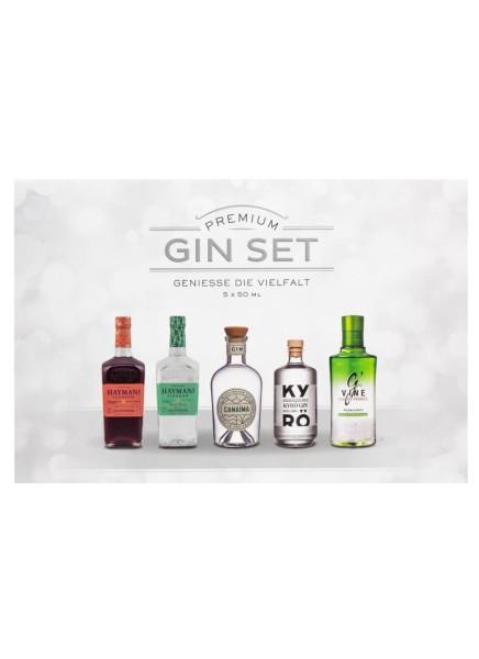 Sierra Madre Premium Gin Set 5 x 50ml