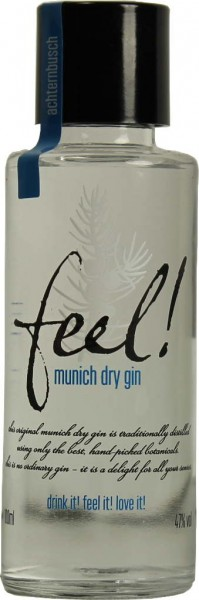 Feel! Munich Dry Gin Mini 0,1l