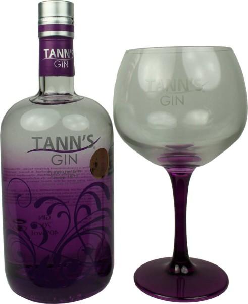 Tanns Gin Geschenkset 0,7l mit Glas