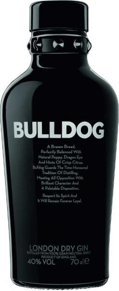 Bulldog Gin 40% 0,7 Liter