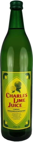Charles Lime Juice 0,75 l