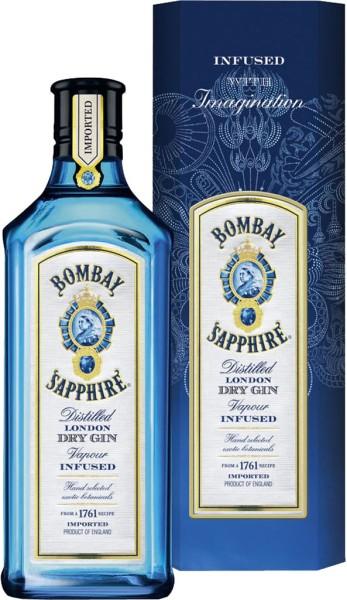 Bombay Sapphire Gin 0.7 l in Geschenkpackung