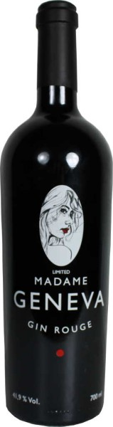 Madame Geneva Gin Rouge Limited 0,7l