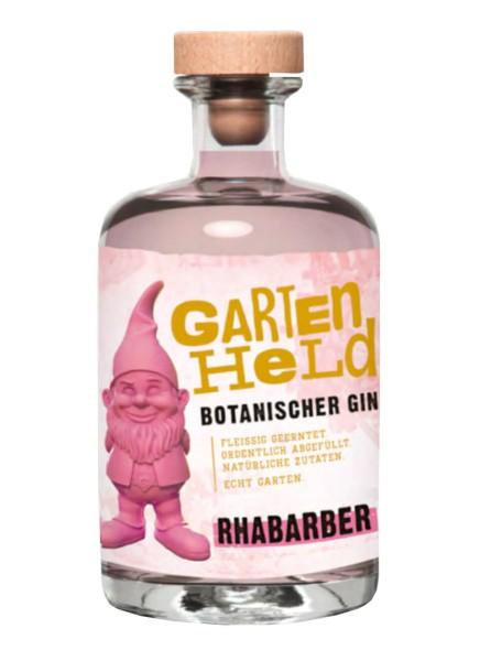 Gartenheld Rhabarber Botanischer Gin 0,5 Liter