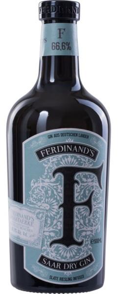 Ferdinands Saar Dry Gin 0,5 Liter Fassstärke