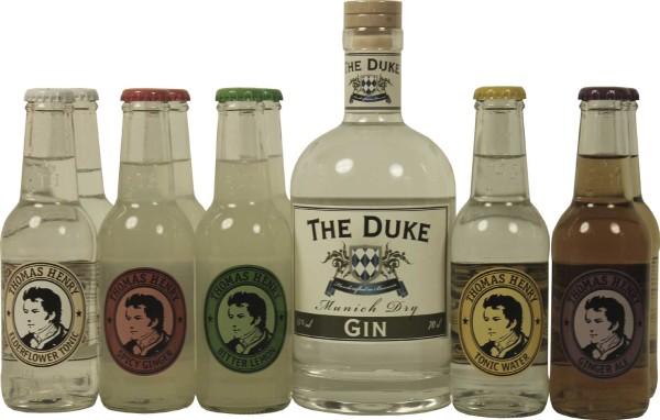 Thomas Henry Flavour Set mit Duke Gin