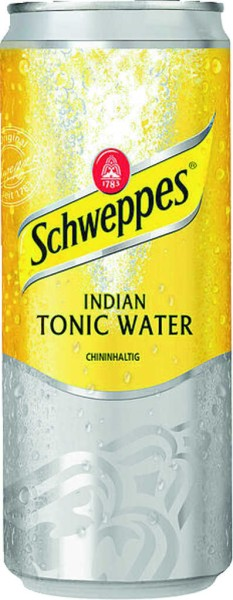 Schweppes Indian Tonic Water 0,33 l Dose