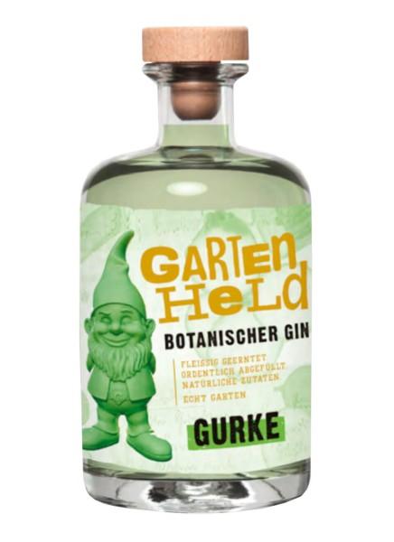 Gartenheld Gurke Botanischer Gin 0,5 Liter