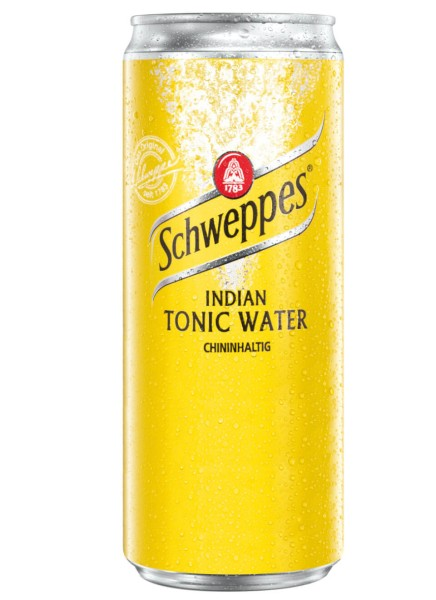 Schweppes Indian Tonic Water 0,33 Liter Dose