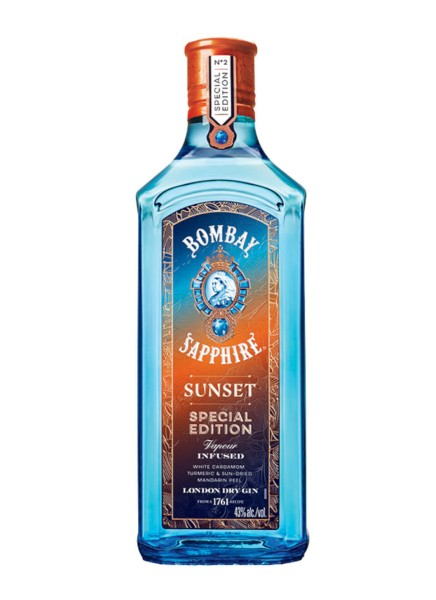 Bombay Sapphire Sunset Special Edition Gin 0.5l
