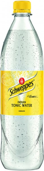 Schweppes Tonic Water 1,0 l PET