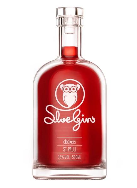 Clockers Sloe Gin 0,5 Liter