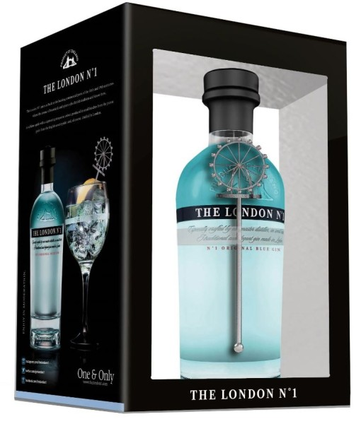 The London Gin No.1 0,7l mit Stirrer